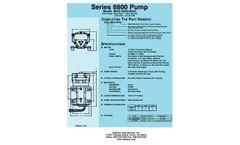 Aquatec 88XX-2X03-B544 Pressure Booster Pump Brochure