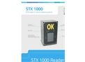 Model STX 1000 - Rfid Card Reader for Vehicle Weighing Systems Brochure