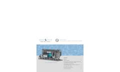 Model HSFD-P-05T - Life Sciences Vapor Compression Distillation System Brochure