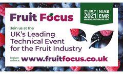 Find us at Fruit Focus 2021