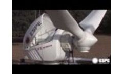 ESPE`s 60 kW FX Series Wind Turbine Generator Installation Video