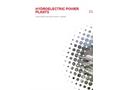 ESPE - Hydroelectric Power Plants - Brochure