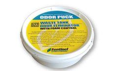Sentinel - Model 522 - Odor Puck Waste Tank Odor Eliminator with Foam Control