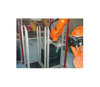 Jansen Poultry Cobot - Palletizing Robot for Setter Trays