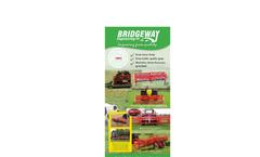Bridgeway - Model L05 - Self Loading Bale Trailer Brochure
