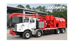 Vac-Con - Model XX-Cavator - High-Pressure Water System