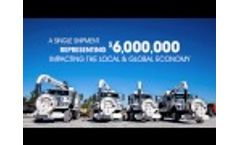 Vac-Con Exports Large Shipments Globally Video