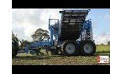 Edenhall 753 Three-Row Trailed Beet Harvester Video