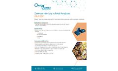 RA-915F Mercury in Food Analyzer