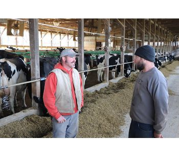 Cow monitors help dairy boost production, health at Hardscrabble, United States