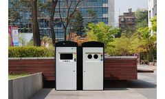 Clean Cube - Solar-Powered Waste Compaction Bin