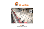 UniVent Manure Belt Battery for Laying Hens - Brochure