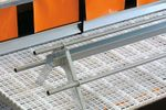 Metal Frame Perches - Poultry Production