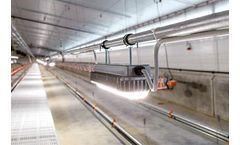 Zeus - Professional LED Ceiling Lamp - Poultry Production