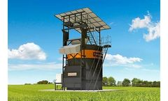 CompoTower - Vertically Enclosed High-Quality Fermenter for Manure and Separated Slurry