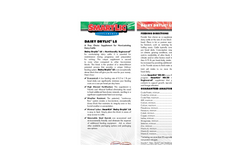 Dairy DryLic - Model LS - Animal Feed Supplement Brochure