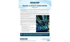 WATER & UTILITY MONITORING Software Solution