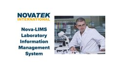 Nova LIMS - Laboratory Information Management System