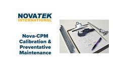 Nova CPM - Calibration & Preventive Maintenance Management Software