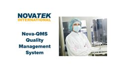 Nova QMS - Quality Management System Software