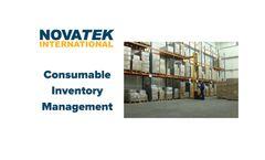 Novatek - Consumable Inventory Management Software