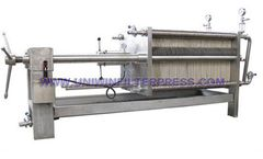 Uniwin - Model BAQ  Series - Stainless Steel Filter Press