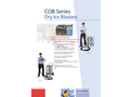 CRYONOMIC - Model COB Series - Dry Ice Grit Blasters - Blaster with Abrasive Module Brochure