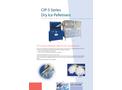 CRYONOMIC CIP-5 Series Dry Ice Machines & Dry Ice Storage Brochure