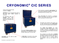 Properties CIC Dry Ice Containers Brochure