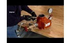 TYCO AV-1-300 Alarm Valve Installation and Set Up Video