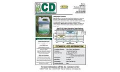 Mat - Model CD-SS - Liquid Spray Coverage Dye Brochure
