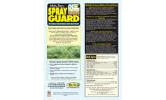 Mat - Model SMM - Spray Guard Brochure