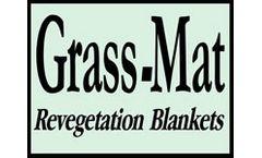 Grass- Mat - Revegetation Blanket