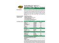 HydroStraw - Model All In 1 - Bonded Fiber Matrix Formula - Datasheet