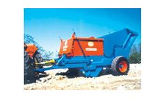 Tomenzoli - Model RST/520-S - Vibrating Pick-Up Stone Picker