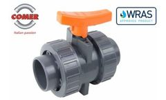 COMER SpA industrial valves WRAS certification