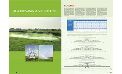 Model A.V.T. - F.V.T 91 - Irrigation Boom Brochure