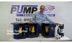 Introducing The DrainMajor, Waste Water Pump Systems (Floor Mounted) - Video
