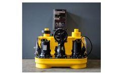 Pump-Technology - Floor Mounted Sewage Pump System