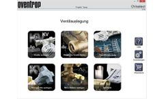 Oventrop - Version OVselect - Software for Thermostatic Radiator Valves