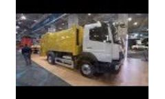 New Atego Garbage Truck 1621 from Turkish Garbage Manufacturer HidroMak Video