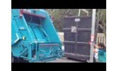 HV1000 Underground Container Garbage Truck Video