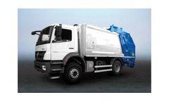 HidroMak - Eco-Twin Hydraulic Refuse Collection Truck Body