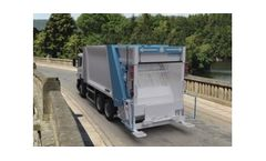HidroMak - Rear Loaded Garbage Truck Body with Container Washing System
