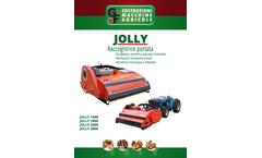 Jolly Mechanical Mounted Harvester Machine - Brochure