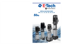 EV Series 50Hz - Vertical Multistage Centrifugal Pumps Brochure