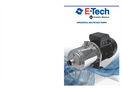 EH Series 50Hz - Stainless Steel Horizontal Multistage Pump Brochure
