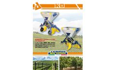 CEA - Model K2D - Under Soil Fertilizer Spreader - Brochure
