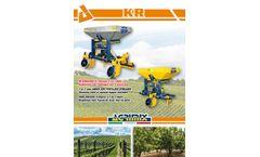 CEA - Model KR1 - Under Soil Fertilizer Spreader - Brochure