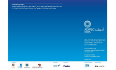 Abu Dhabi International Petroleum Exhibition & Conference (ADIPEC) 2015 - Brochure